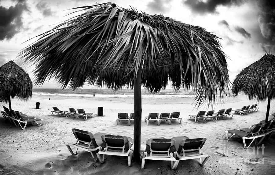 Tiki Shade Photograph  - Tiki Shade Fine Art Print