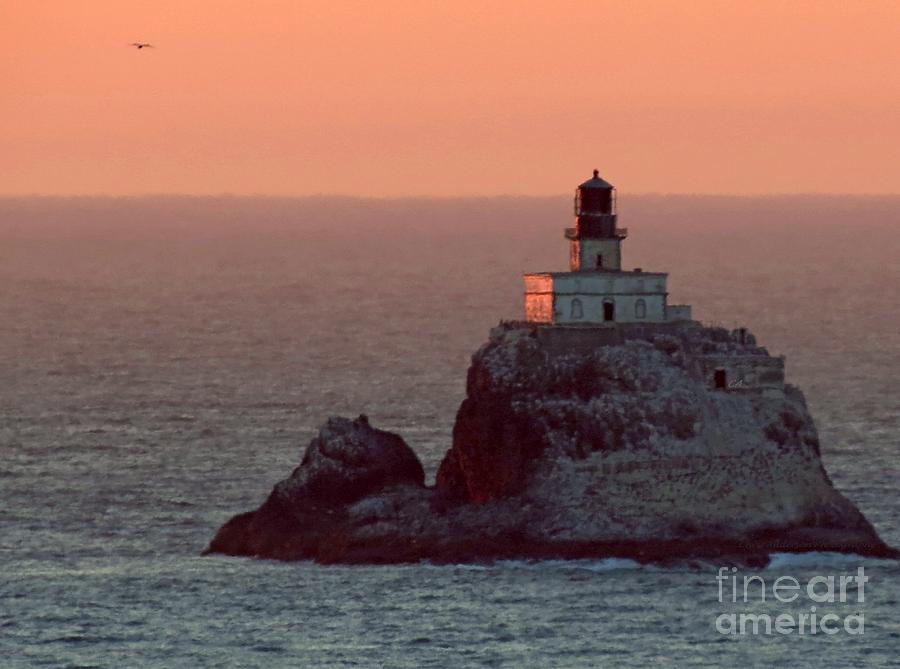 Tillamook Rock Lighthouse Photograph - Tillamook Rock Lighthouse by Chris Anderson