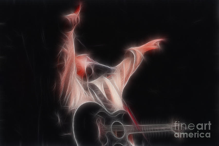 Tim Mcgraw Ga22 - Fractal Photograph  - Tim Mcgraw Ga22 - Fractal Fine Art Print