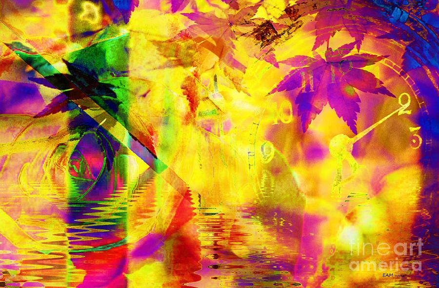Time As An Abstract Digital Art