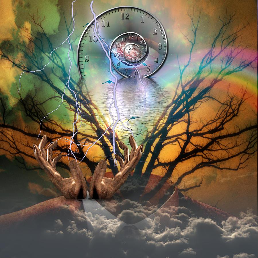Time Spiral Digital Art