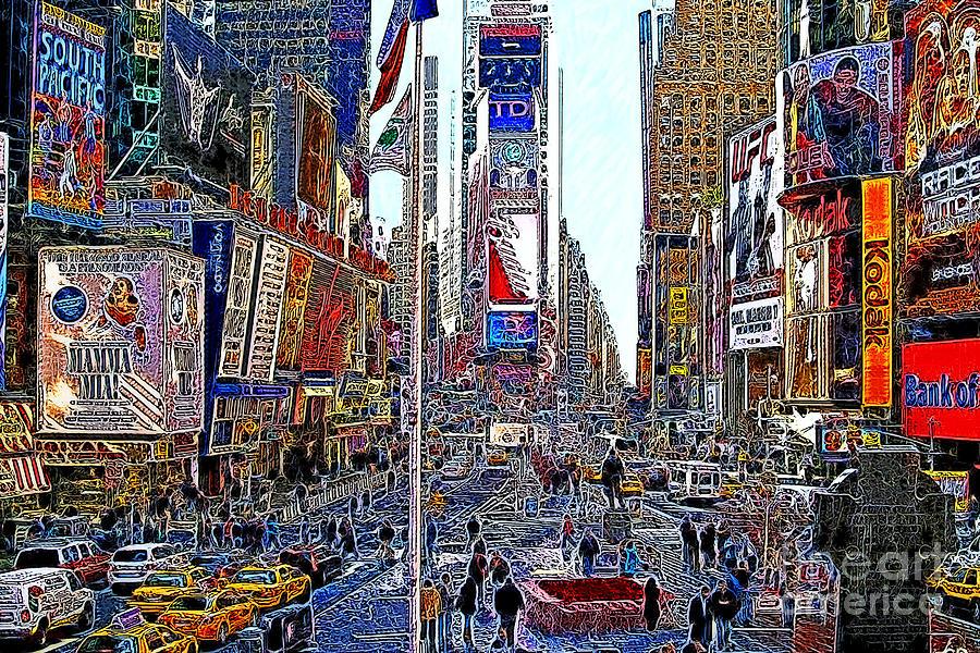 Time Square New York 20130503v5 Photograph