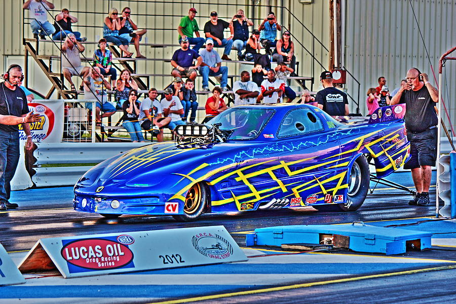 Funny Car Photograph - Time To Fly by Jason Drake