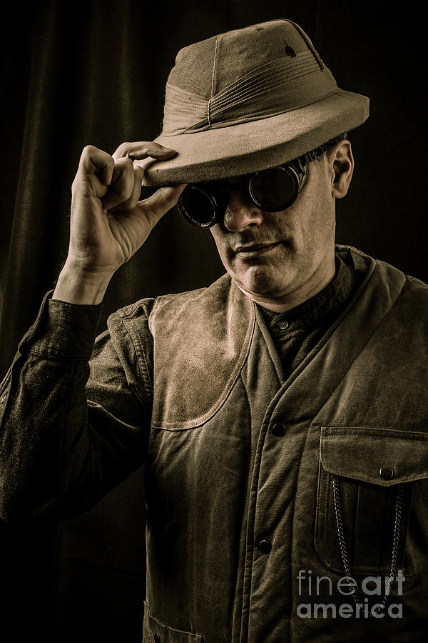 Pith Photograph - Time Traveler by Edward Fielding