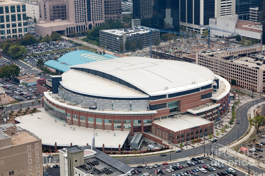 Time Warner Cable Arena Photograph - Time Warner Cable Arena by Bill Cobb