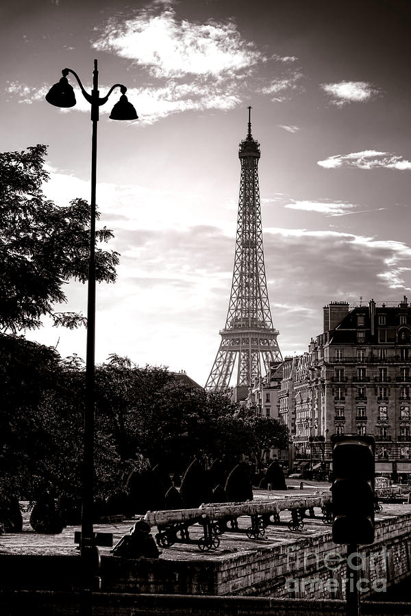 France Photograph - Timeless Eiffel Tower by Olivier Le Queinec