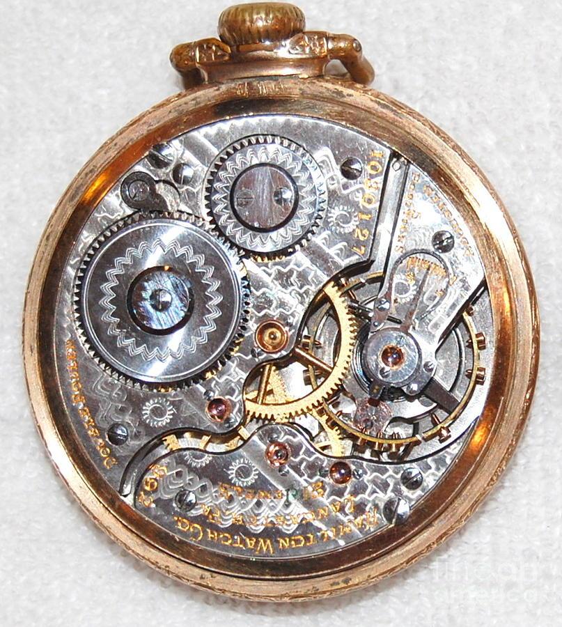 Timeless - Hamilton Pocket Watch Internal Gears Photograph ...