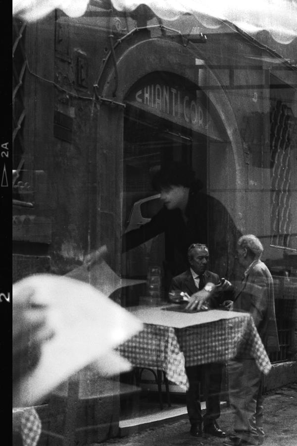 Black And White Photograph - Timeless Rome by Becky Kozlen