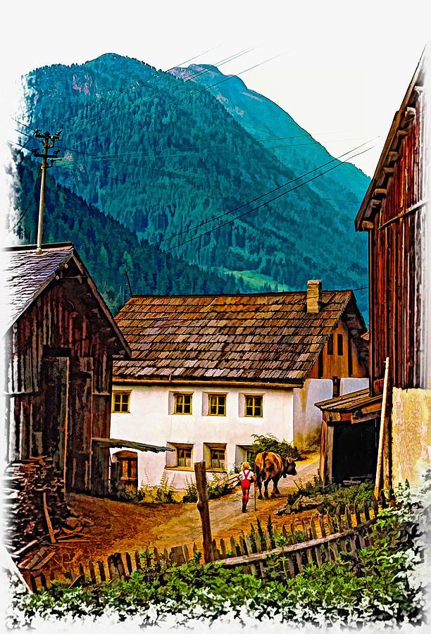Austria Photograph - Timeless Vignette Version by Steve Harrington