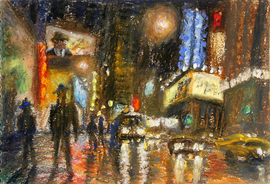 Times Square 2 Painting