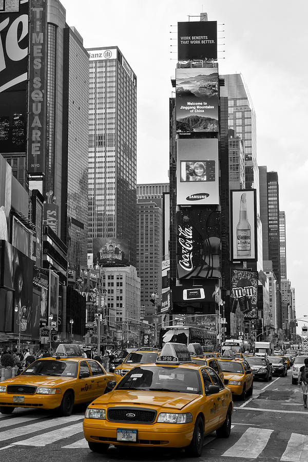 Times Square Nyc Photograph