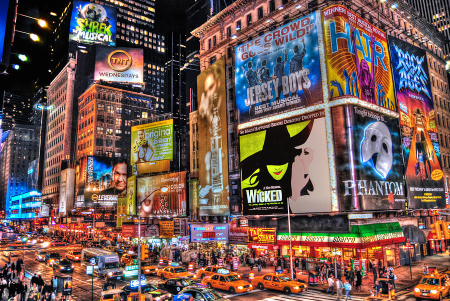 Times Square Photograph