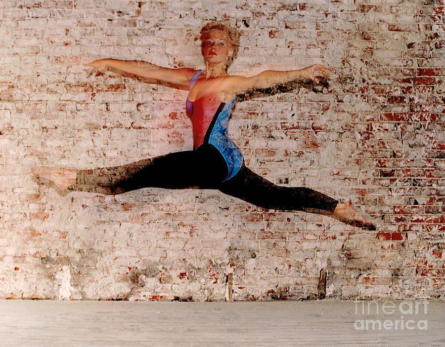 Tina Ballet Jump Photograph