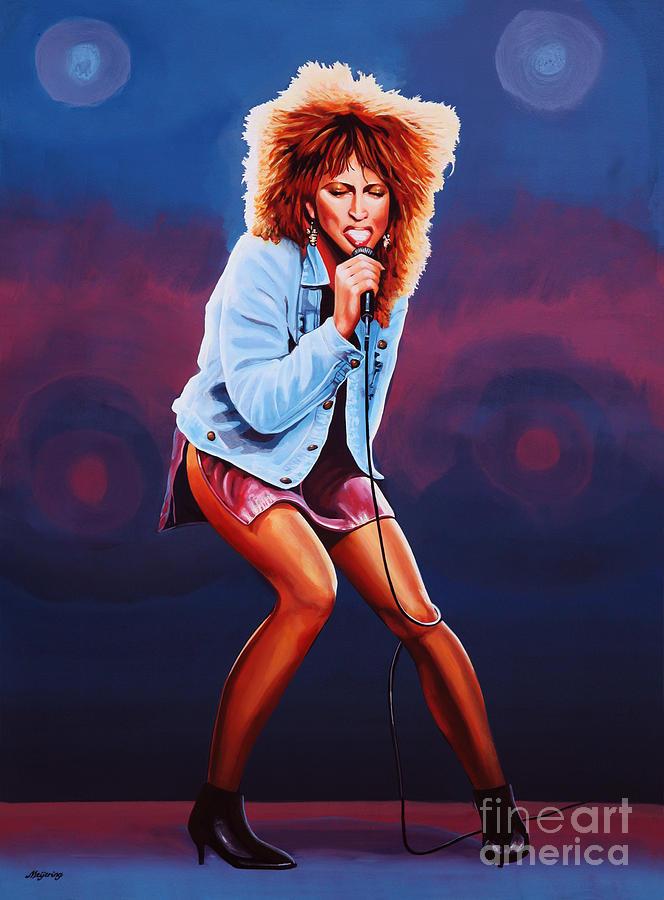 Tina Turner Painting - Tina Turner by Paul Meijering