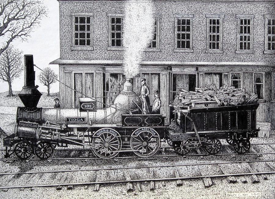 Tioga 1848 Drawing
