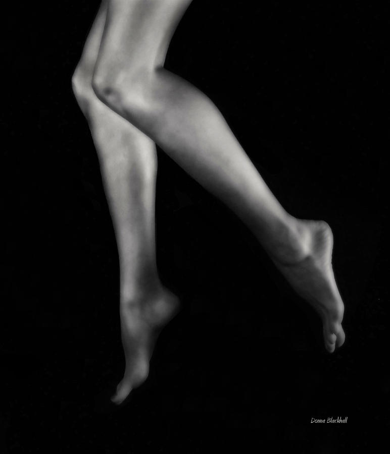 Tip Toe Photograph  - Tip Toe Fine Art Print