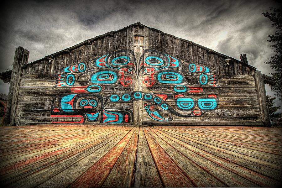 Tlingit tribal house haines alaska photograph by ryan smith for Tribal house