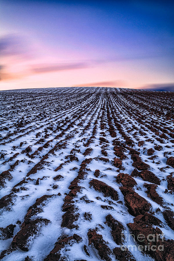 Snow Photograph - To Infinity by John Farnan