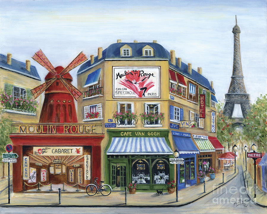 To Paris With Love Painting