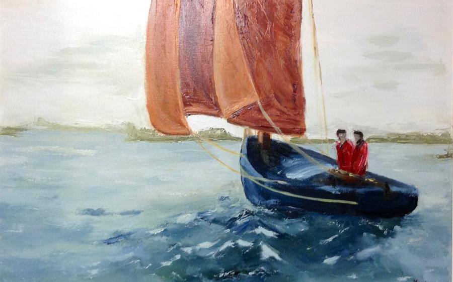 To Sea Painting