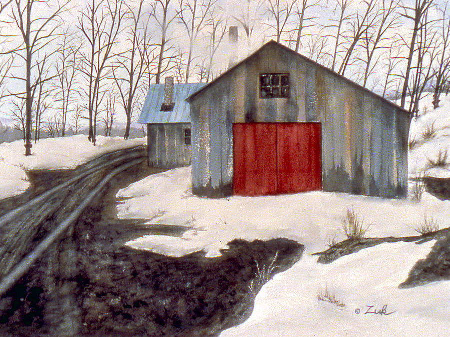 To The Sugar House Painting  - To The Sugar House Fine Art Print