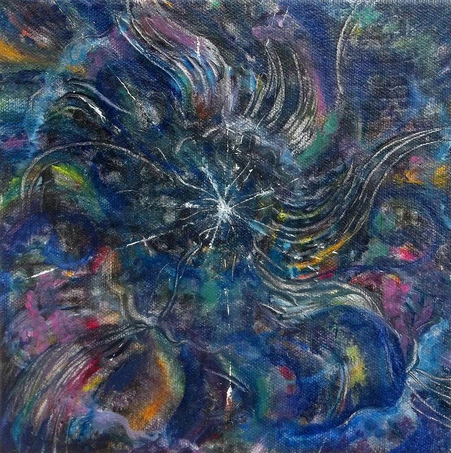 Tohu Va Vohu Painting - Tohu Va Vohu by Anne Cameron Cutri