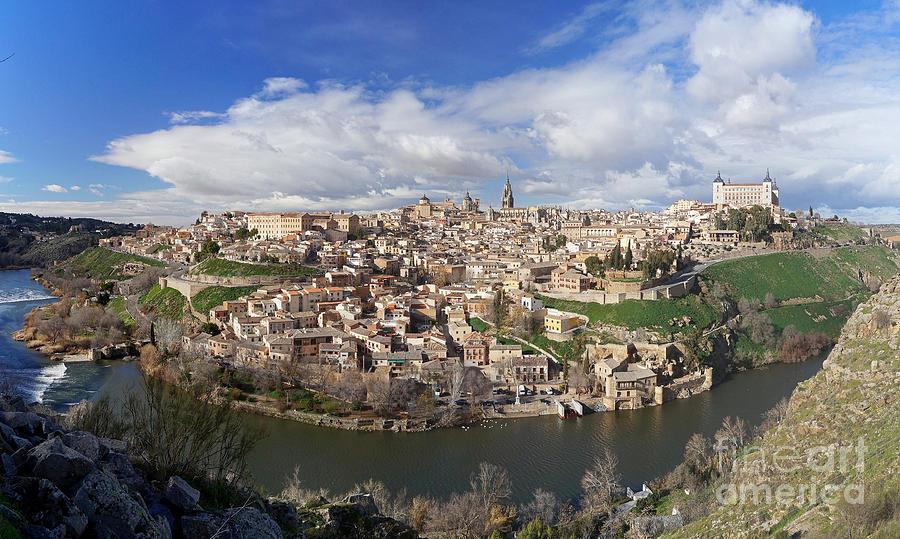 Toledo Panorama Photograph