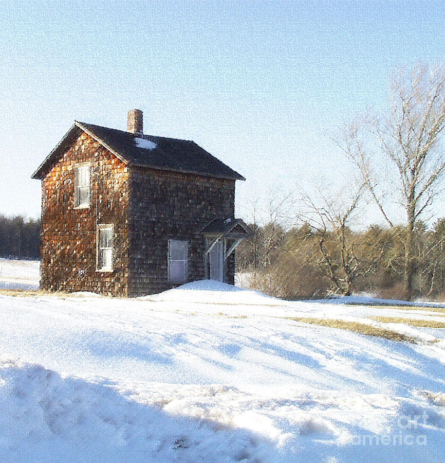 Toll House Photograph  - Toll House Fine Art Print