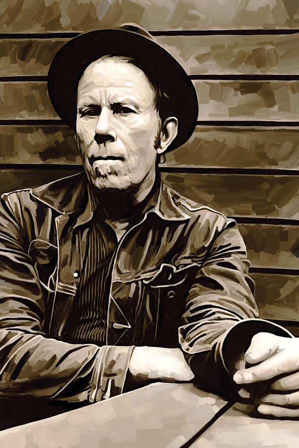 Tom Waits Artwork 2 Painting