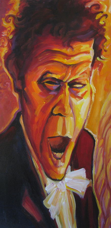 Tom Waits For No Man Painting  - Tom Waits For No Man Fine Art Print