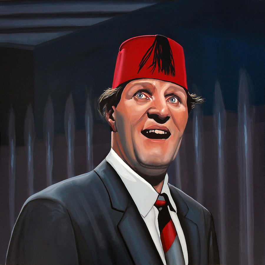 Tommy Cooper  Painting