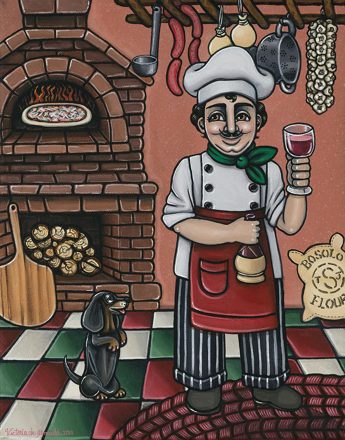 Tommys Italian Kitchen Painting