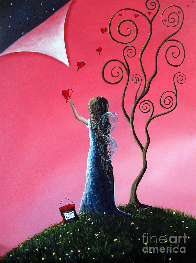 Tomorrows Promises Are A Dream Away By Shawna Erback Painting