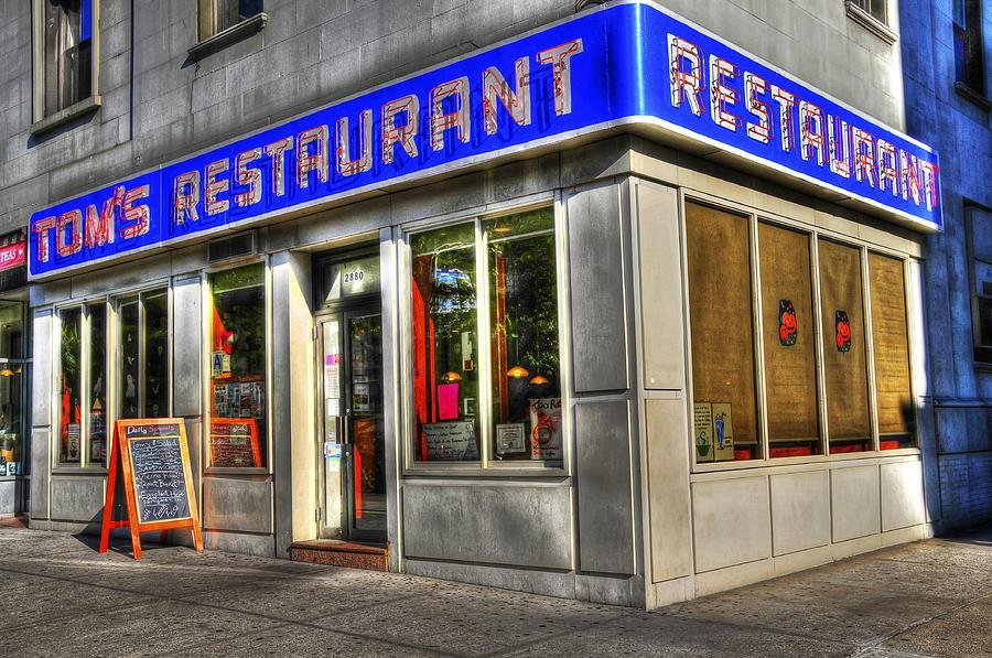 Toms Restaurant Of Seinfeld Fame Photograph