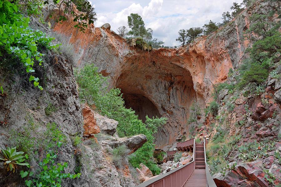 Tonto Natural Bridge Az Photograph