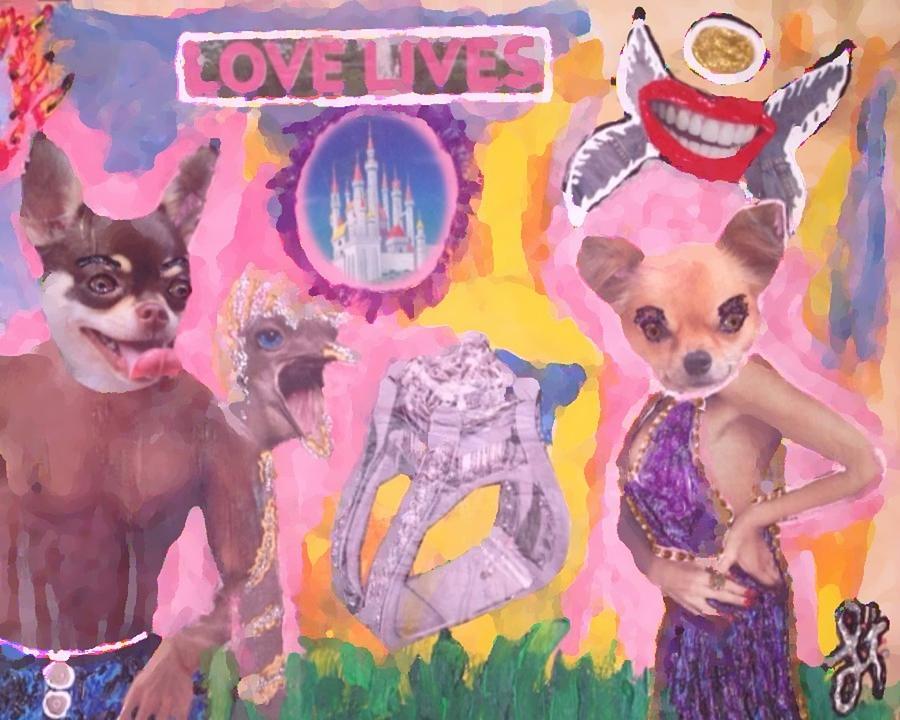 Tony Ferguson El Cucuy  Painting