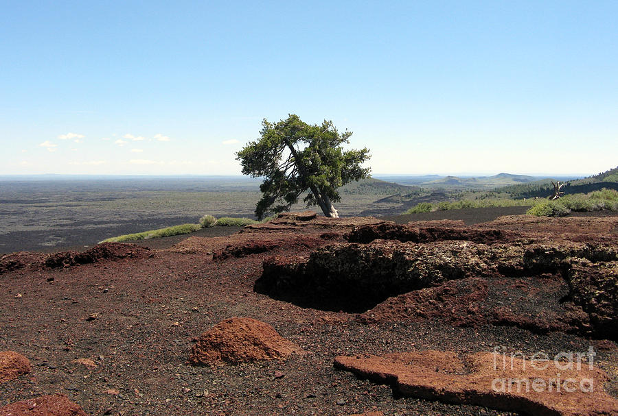 Top Of Inferno Cone Photograph