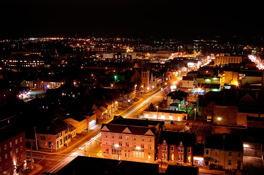 Kingston Photograph - Top Of Kingston Series 003 by Paul Wash