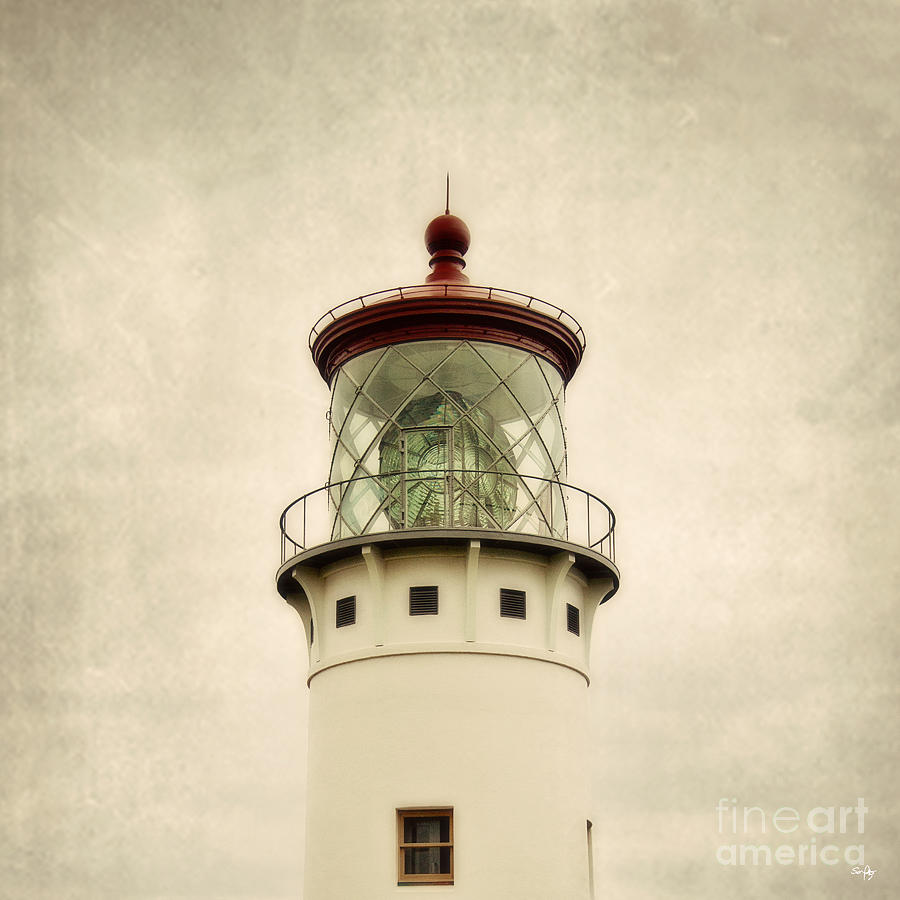 Top Of The Lighthouse Photograph  - Top Of The Lighthouse Fine Art Print