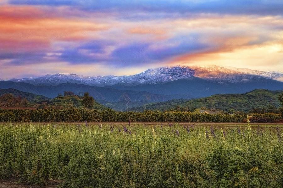 Topa Topa Mountains After A Storm Photograph  - Topa Topa Mountains After A Storm Fine Art Print