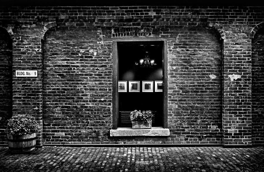 Toronto Distillery District Art Gallery Window Photograph