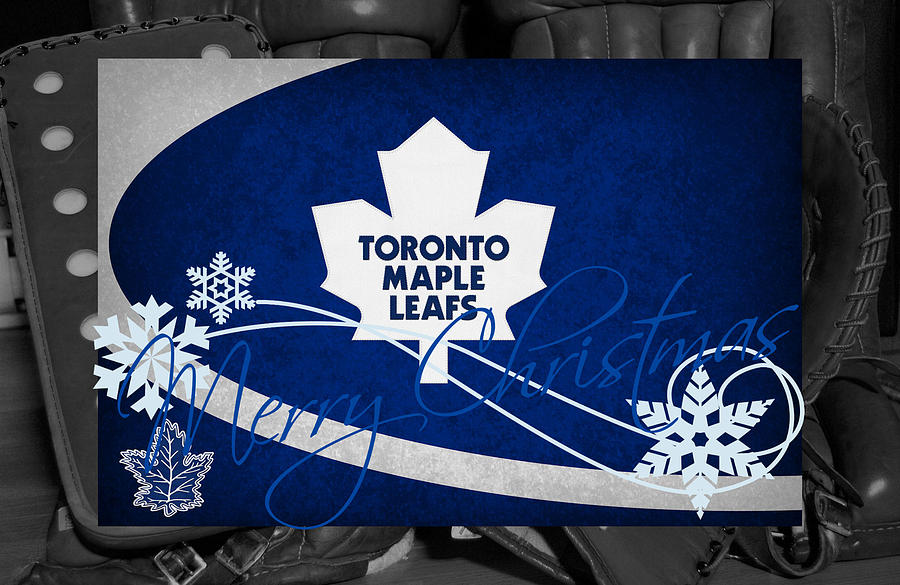 Toronto Maple Leafs Christmas Photograph
