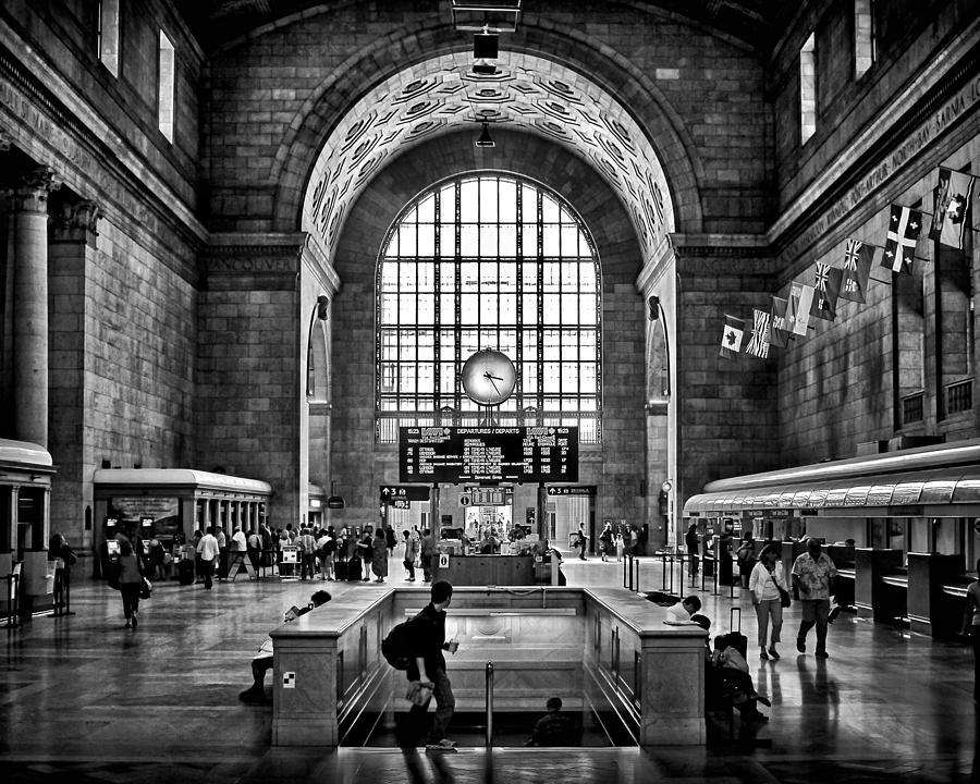 Toronto Union Station 323pm Photograph