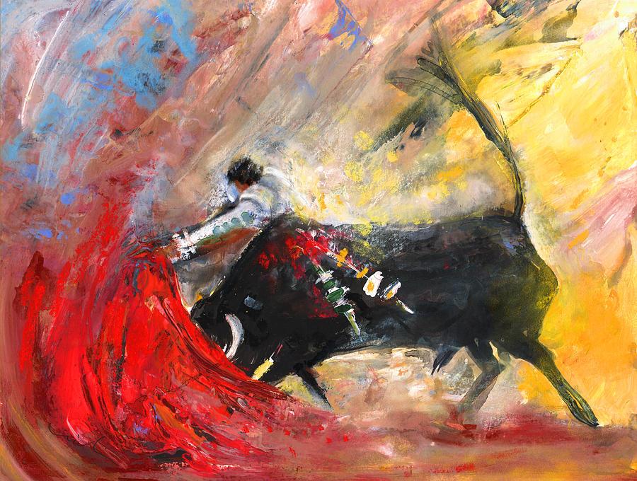 Culture Painting - Toroscape 46 by Miki De Goodaboom