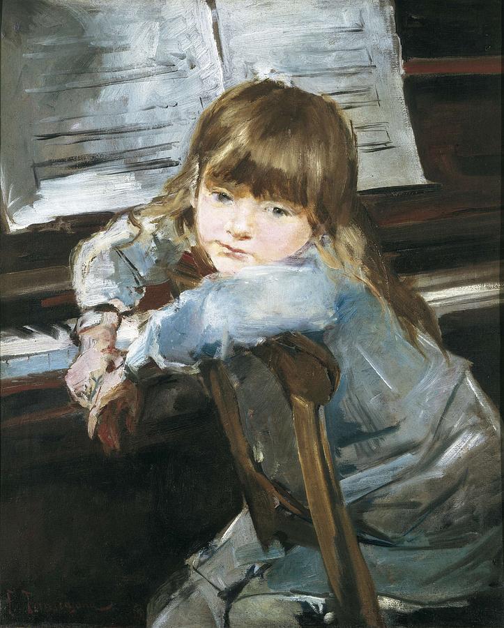 Vertical Photograph - Torrescassana, Francesc 1845-1918. Girl by Everett