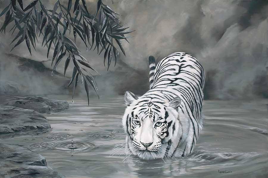 Torrit The Tiger Painting