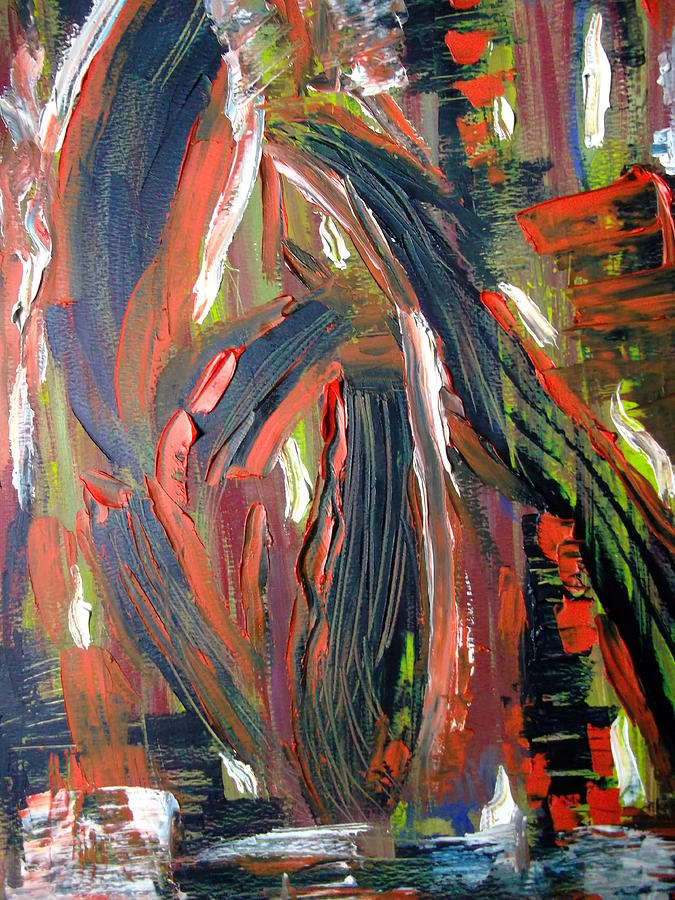Abstract. Strong Painting - Torsion by Karen Lillard