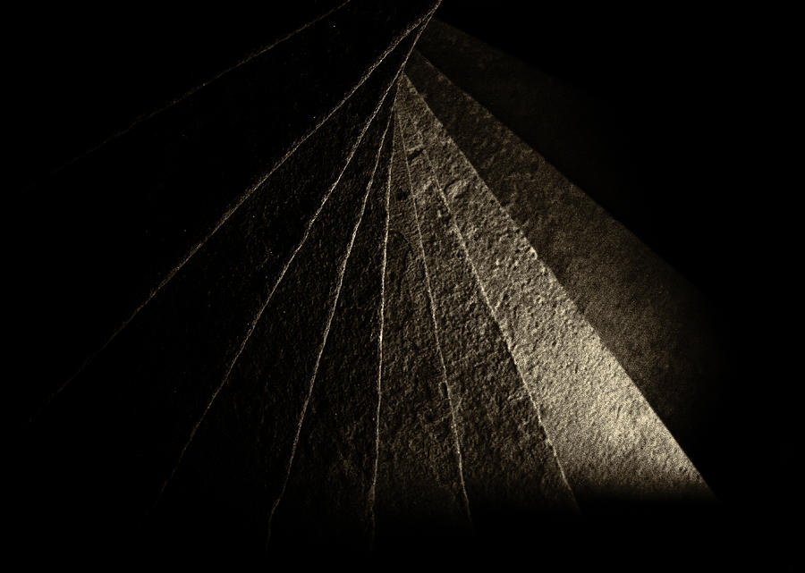 Tortugas Spiral Stone Photograph