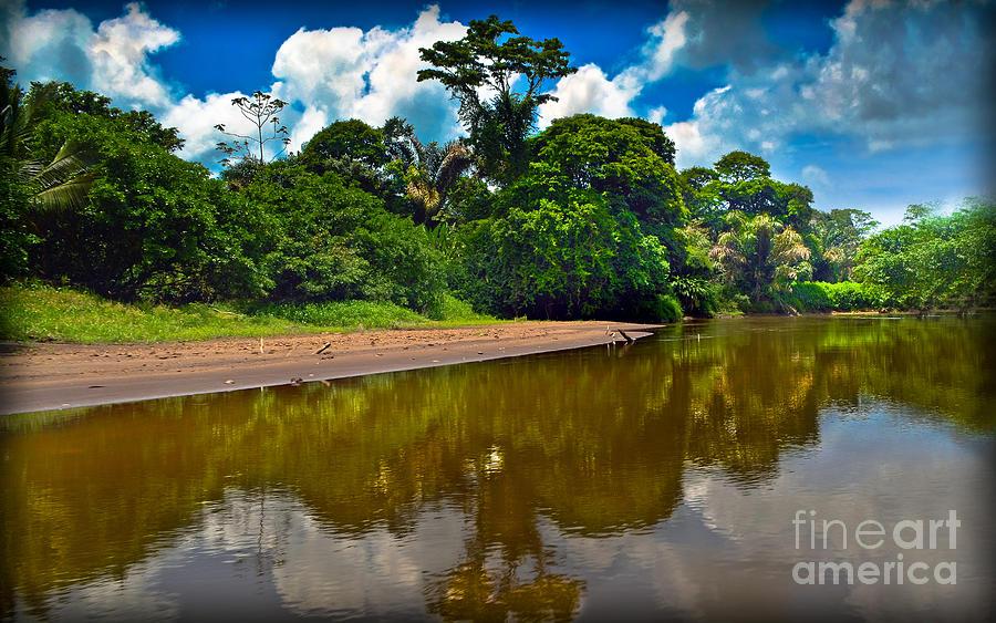 Tortuguero River Canals Photograph