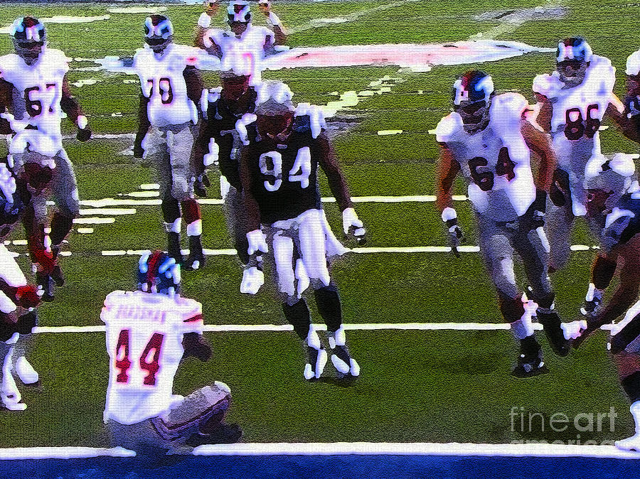 Touchdown Giants Painting